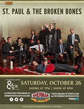 Watch Your Favorite Artists St. Paul & The Broken Bones And Raise Your Spirits With Fun
