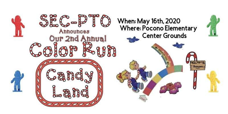Swiftwater Elementary Center PTO 2nd Annual COLOR RUN